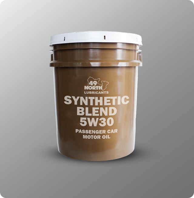 Synthetic Blend 5W-30 Passenger Car Motor Oil Drum